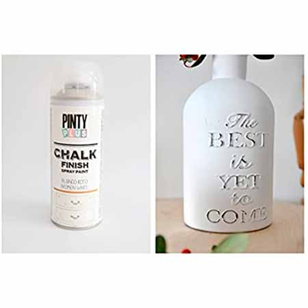 chalky paint spray